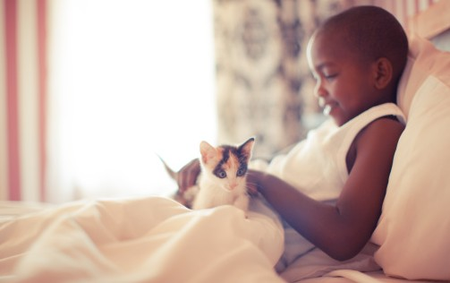 chaton-enfant