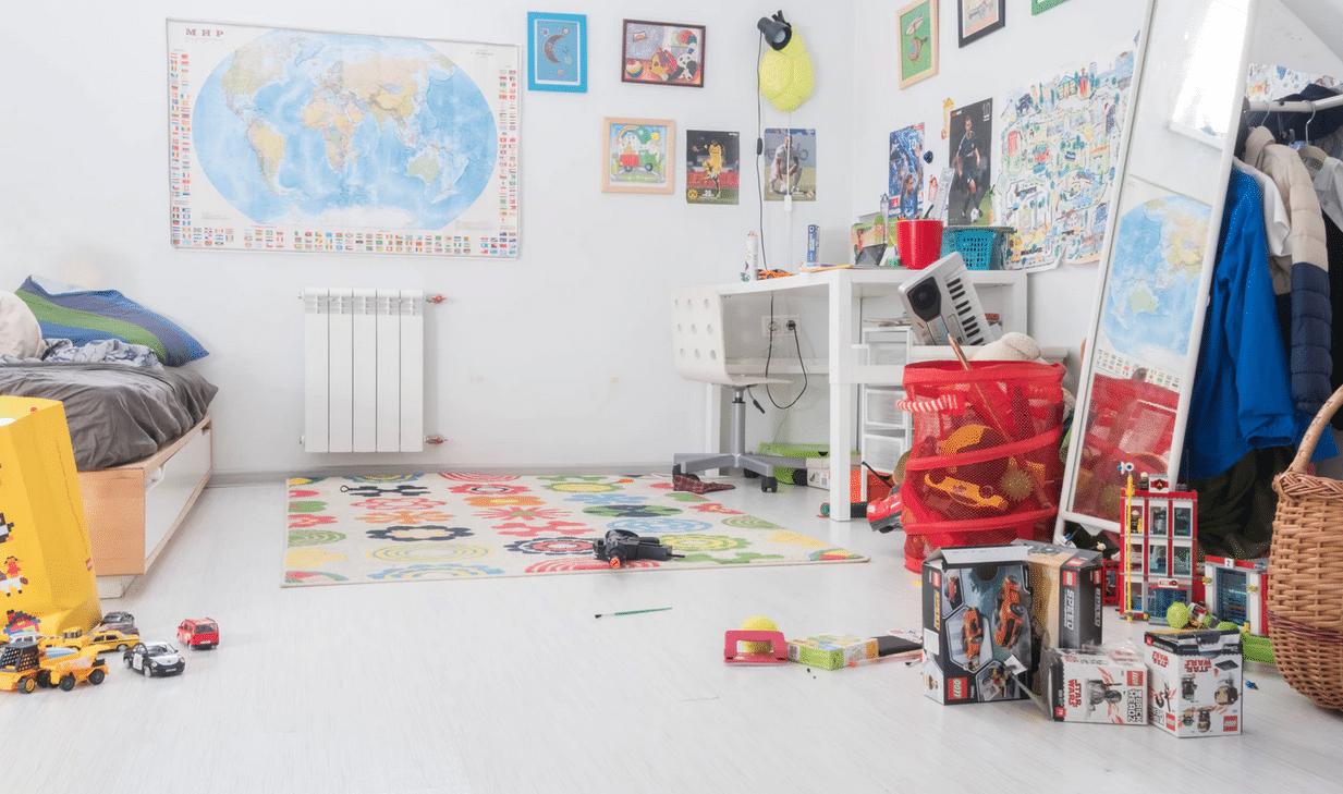 A quelle fréquence redécorer la chambre d'un enfant ?